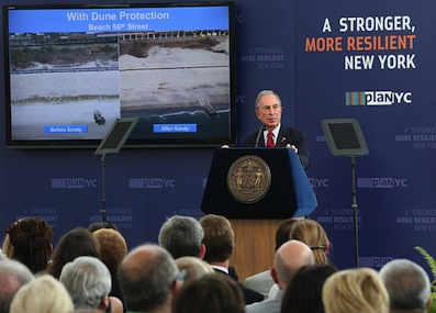 Mayor Bloomberg announces ambitious storm mitigation plan