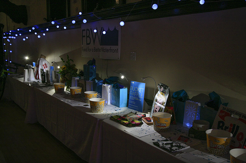 A plethora of auction and bucket raffle items awarded at the event.