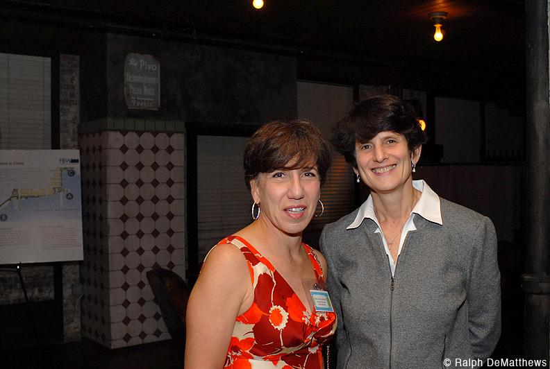 FBW Board member Ines Garcia Keim with FBW attorney Renee Steinhagen who received the FBW Riparian Award.