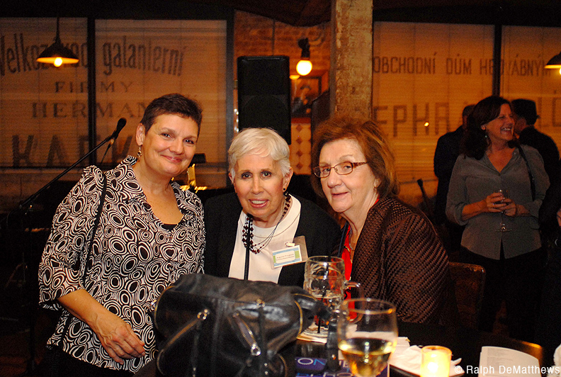 Laurie Brongo, Augusta Przygoda and Lucille Casulli.