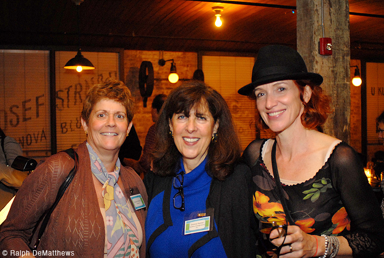 FBW Board members and event organizers Monica Pollock, Donna Ramer and Heather Gibbons.