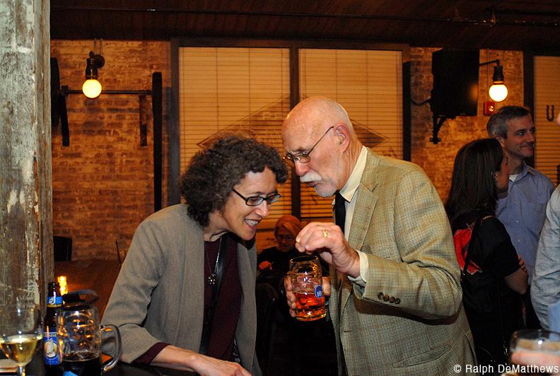 Sarah Colker with FBW President Jim Vance.
